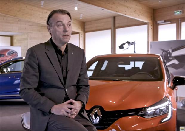 Nový Renault Clio se začíná odhalovat. Prozradil svůj interiér i část karoserie!