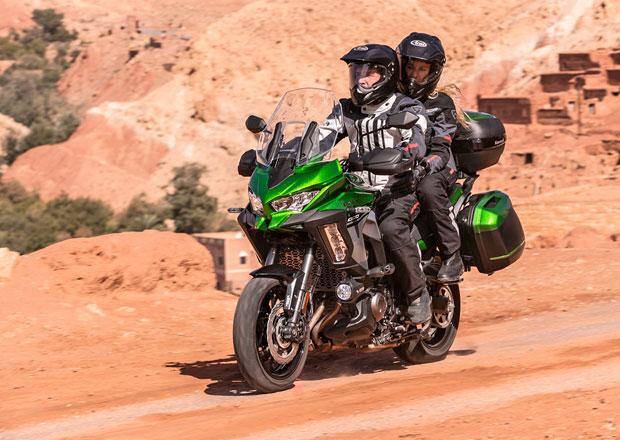 Kawasaki Versys 1000: Nový design a řada dalších změn pro rok 2019