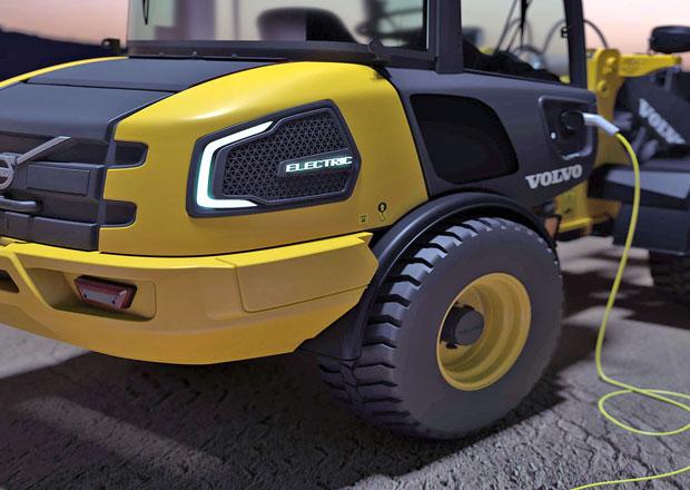 Volvo CE vidí budoucnost stavebních strojů v elektřině