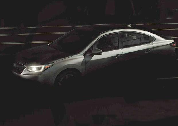 Subaru poodhaluje nové Legacy. Dostane obří displej jako Tesla