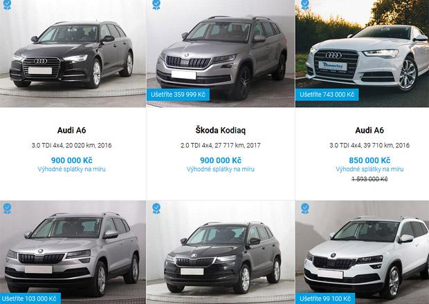 Mototechna spustila e-shop s ojetými auty