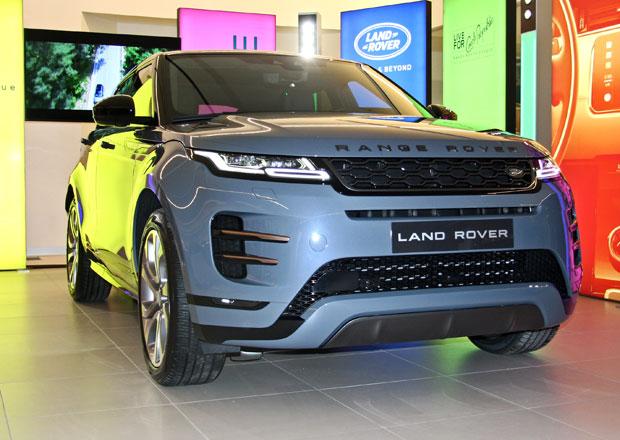 Nový Range Rover Evoque se poprvé ukázal v Česku. Exkluzivně jsme si ho prohlédli