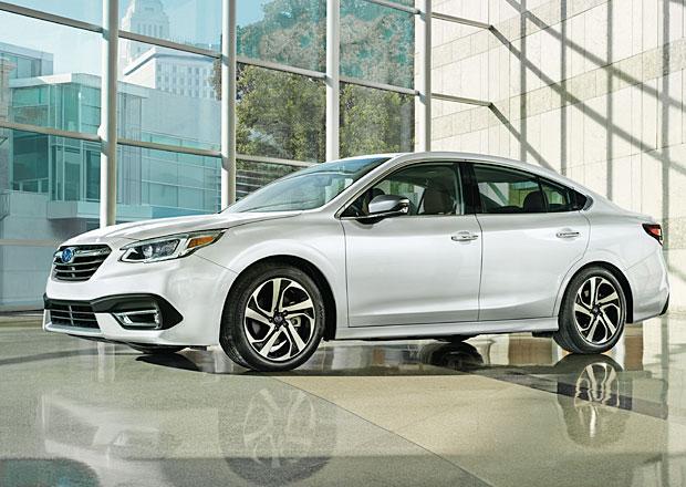 Nové Subaru Legacy je tady. Moc se nezměnilo, po letech se ale vrací k turbu
