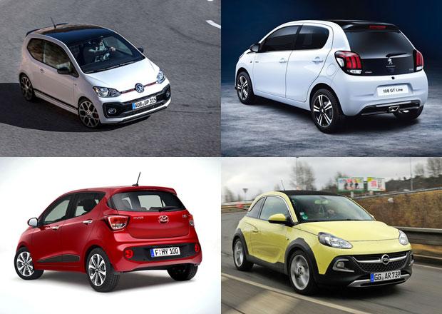 Segment miniaut může v Evropě vymřít. Konec svých nejmenších modelů zvažují VW i PSA