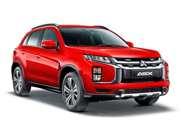 Nové Mitsubishi ASX na prvních fotkách. Došlo na vzhledové retuše a nový infotainment