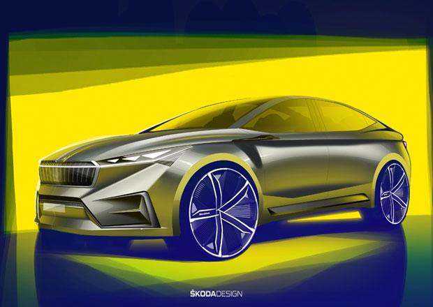 První nákresy Škody Vision iV oficiálně. Ukazuje chystané elektrické SUV z Boleslavi
