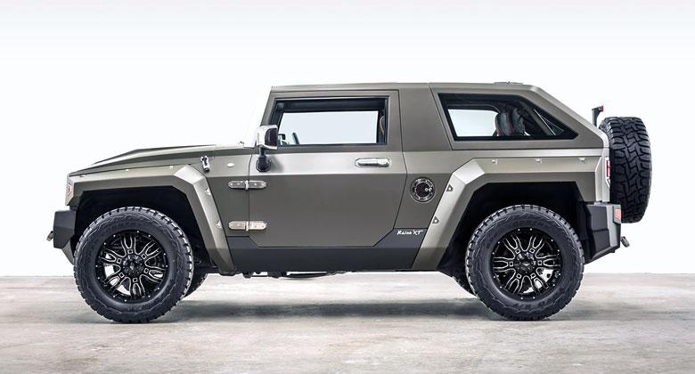 V Americe vám vyrobí jedenáct let starý koncept Hummer HX Concept. Tedy skoro