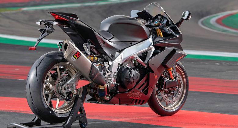 Aprilia RSV4 1100 Factory je nejrychlejší, nejvýkonnější a nejlehčí zástupce svého rodu