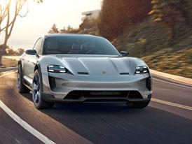 Elektrické Porsche Taycan Cross Turismo dorazí dříve, než bylo v plánu