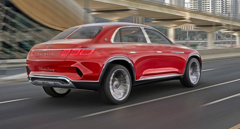 Luxusní SUV Mercedes-Maybach GLS má přijet ještě letos z Alabamy