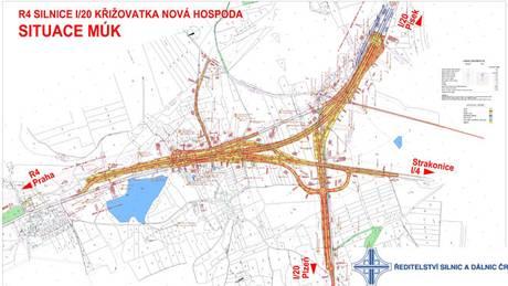 Zahájena výstavba mimoúrovňové křižovatky u Nové Hospody