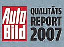 Auto Bild Qualitätsreport 2007: Mazda má hattrick