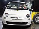 Fiat 500: špičkový výsledek v testu Euro NCAP (+ video)