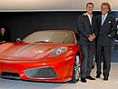 Frankfurt živě: Ferrari F430 Scuderia - premiéra s Michaelem Schumacherem