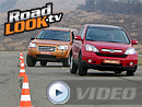Srovnávací test Roadlook TV: Honda CR-V vs. Land Rover Freelander