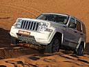 Jeep Cherokee v trase Dakaru – první jízdní dojmy