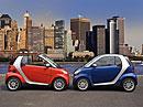 Smart ForTwo: Městský mikroautomobil slaví 10 let