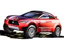 Mitsubishi Racing Lancer MRX09: Nová zbraň pro Dakar se představí v Paříži