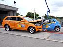 Crash-test Audi Q7 proti Fiatu 500: Souboj Davida a Goliáše má jasného vítěze (VIDEO)