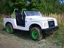 Samurai 4x4 Electric: Český terénní elektromobil