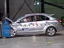 Euro NCAP 2009: Mitsubishi Lancer – pět hvězd, problémy s ochranou chodců