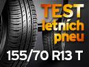 ADAC Test letních pneumatik (4. díl): Rozměr 155/70 R13 T