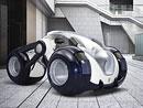Peugeot RD Concept: Radikální design tříkolky pro megalopole budoucnosti