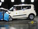 Euro NCAP 2009:  Kia Soul – Plný počet hvězd, průměrná ochrana kolen a stehen