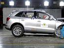 Euro NCAP 2009:  Audi Q5 – Pět hvězd pro pětku, problémy s kůlem