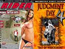 RIDER s dvd Judgment day 4 na stáncích od 8. 6. 2009