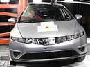 Euro NCAP 2009:  Honda Civic – Po dvou čtyřhvězdičkových výsledcích konečně 5 hvězd