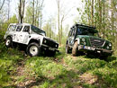 Test: Iveco Massif vs. Land Rover Defender  - Drs��ci