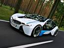 BMW Vision EfficientDynamics: Vzn�tov� t��v�lec a k tomu 2 el.motory pro sportovn� kup�