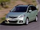 Mazda 5 Premium: První cena v akci 485.900,- Kč, turbodiesel od 555.900,- Kč