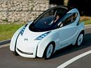 Nissan Land Glider Concept: Elektro-motocykl na čtyřech kolech