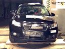 Euro NCAP 2009: Chevrolet Cruze – 5 hvězd, špičková ochrana cestujících