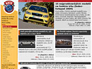 Nej�ten�j�� �l�nky na news.auto.cz v roce 2009