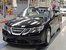 Saab: První kabriolet 9-3 opustil továrnu v Trollhättanu