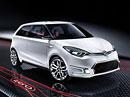 MG Zero: Malý hatchback zatím jako studie s evropským designem