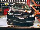 Euro NCAP 2010:  BMW 5 – Pět hvězd, problematická je jen tuhá přední hrana kapoty