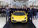 Lamborghini Gallardo: Italských supersportů vzniklo již 10.000