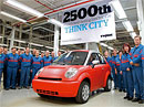 Think City: 2500 elektromobilů