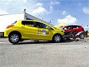Crash-test Ford Fiesta vs. Peugeot 308