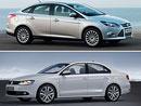Ford Focus vs. Volkswagen Jetta