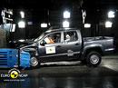 Euro NCAP 2010:  VW Amarok – Čtyři hvězdy, slabší ochrana dětí
