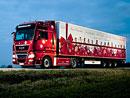 MAN TGX: Vánoční tahače pro Německo