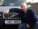 Tomáš Dvořák dostal Volvo s motivační SPZ