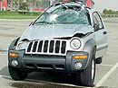 Jeep Liberty v kotrmelc�ch!