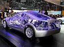 Subaru Boxer Sports Car Architecture: Vnitřnosti kupé Subaru