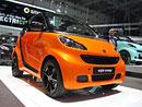 Smart fortwo nightorange: Oranžová s černou nad hlavou